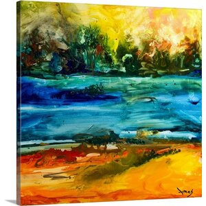 Nature I by Jonas Gerard Painting Print on Canvas by Great Big Canvas