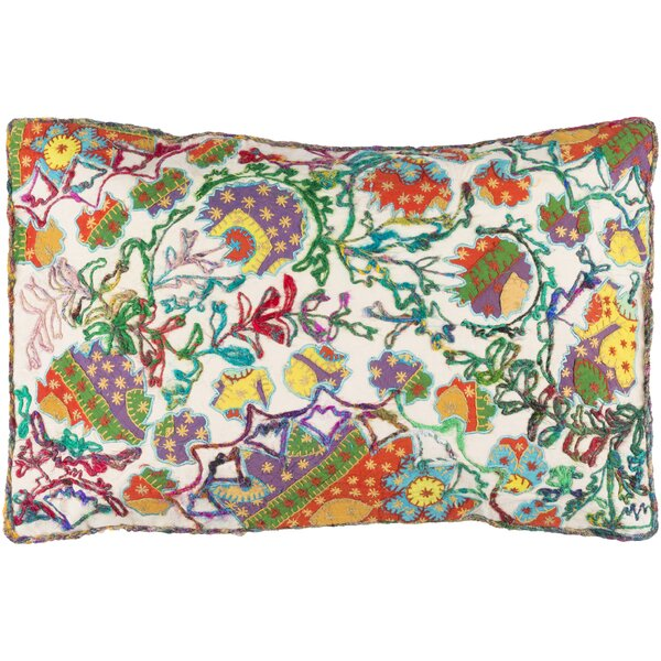 Harrison Cotton Lumbar Pillow by Bungalow Rose
