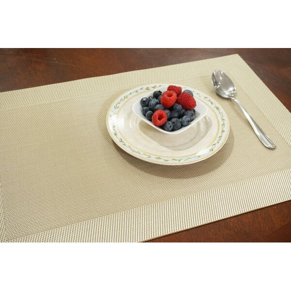 Napa Reversible Woven 18 Placemat (Set of 8) by Dainty Home