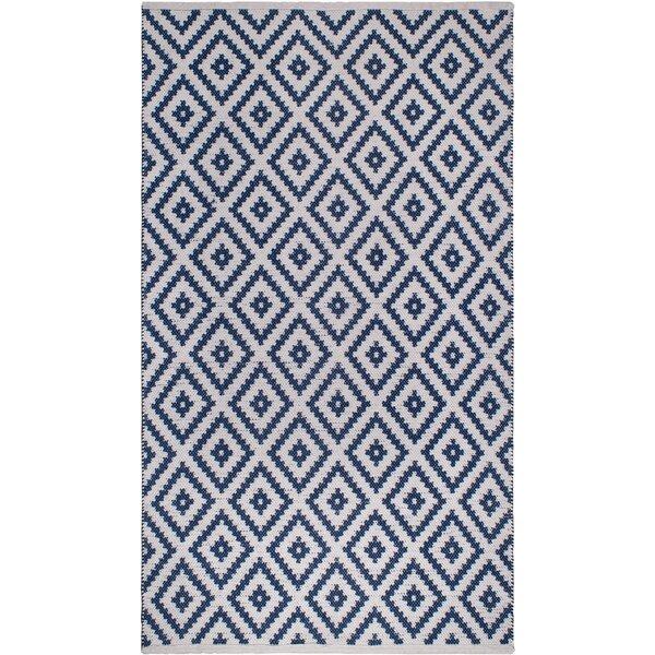 Huddleston Blue Indoor/Outdoor Area Rug by Union Rustic