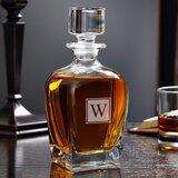 Fionn Draper Personalized 24 oz. Whiskey Decanter byCharlton Home