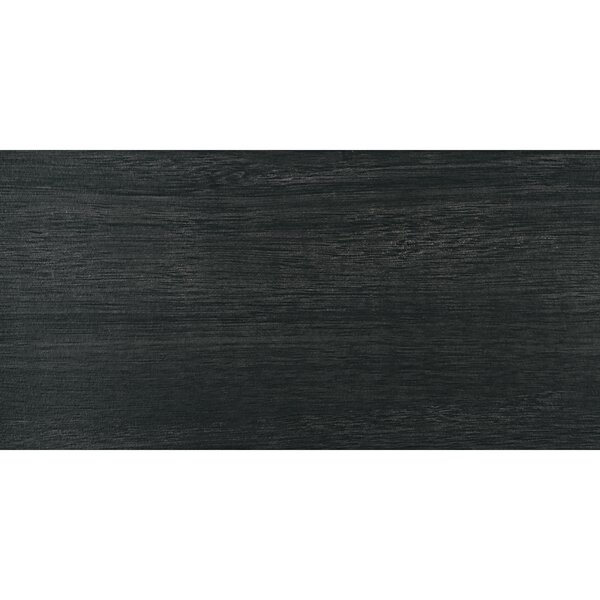 Harmony Grove 6 x 36 Porcelain Wood Look Tile in Olive Charcoal by PIXL