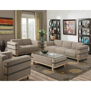 Industrial Living Room Sets You\'ll Love | Wayfair