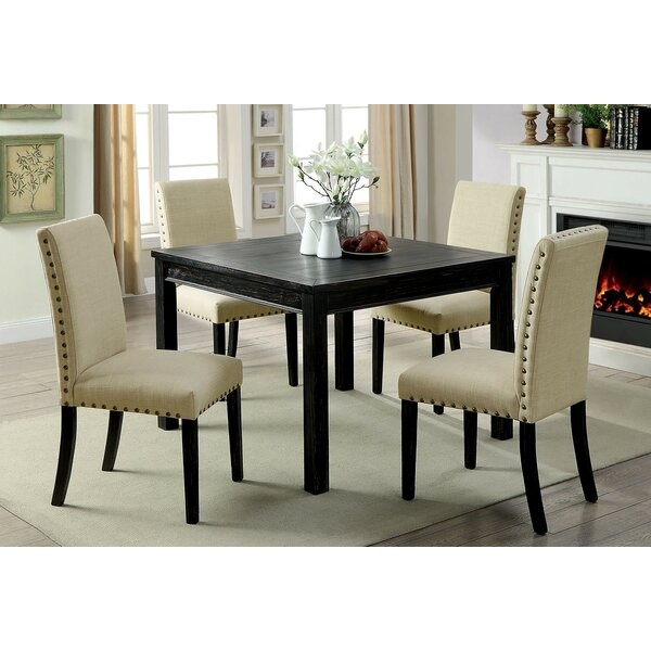 Delvale 5 Piece Extendable Dining Set by Alcott Hill