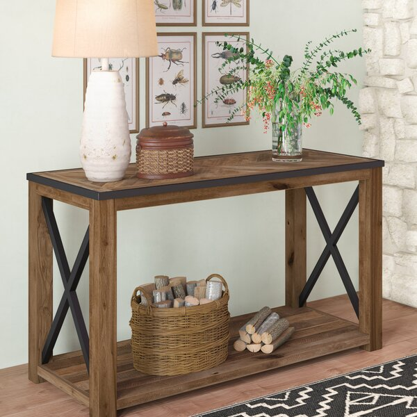 Home & Garden Battershell Console Table