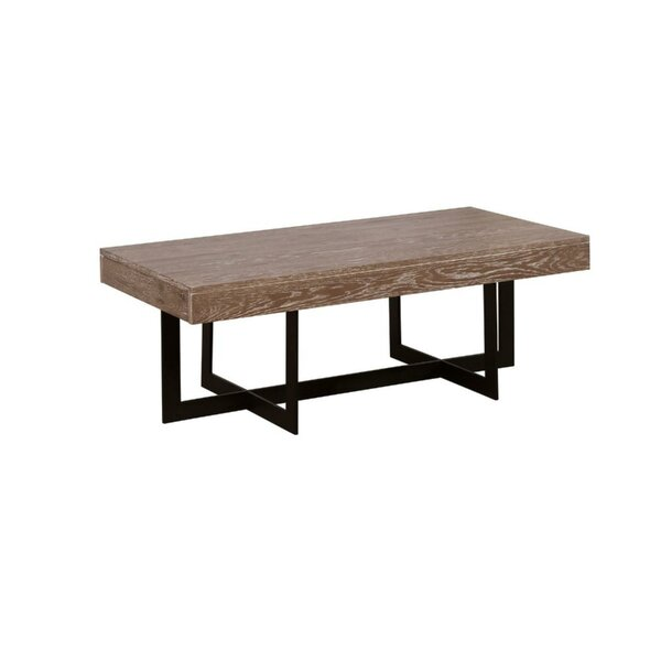 Gunnar Solid Wood Coffee Table by 17 Stories