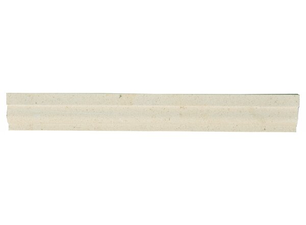 Osso Limestone 1.5 D Chair Rail (Set of 5) by The Bella Collection