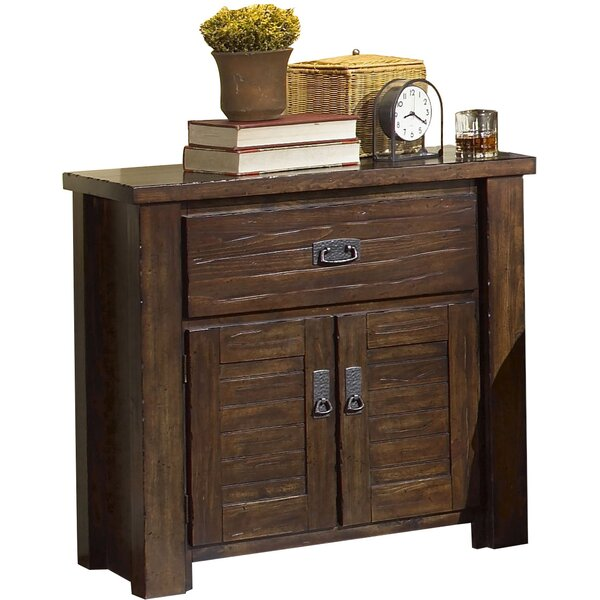 Worksop 1 Drawer Nightstand by Loon Peak