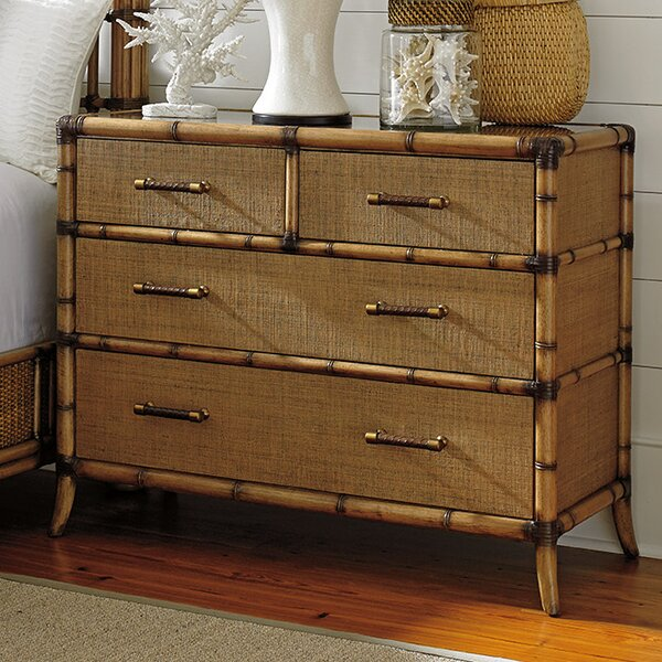 Twin Palms 4 Drawer Dresser by Tommy Bahama Home Tommy Bahama Home