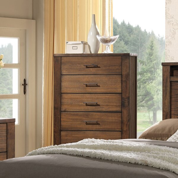 Lars 5 Drawer Chest by Millwood Pines