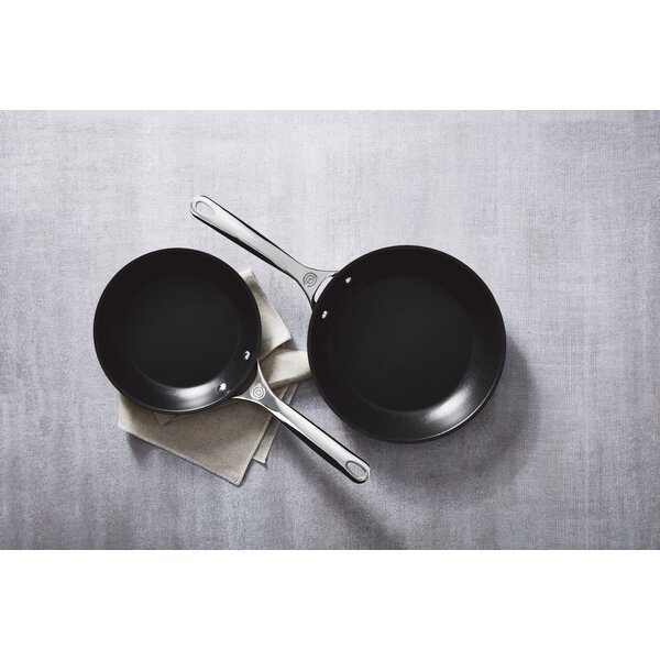 2 Piece Hard Anodized Nonstick Frying Pan Set by Le Creuset