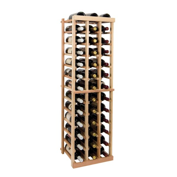 Florian 39 Bottle Floor Wine Bottle Rack by Symple Stuff Symple Stuff