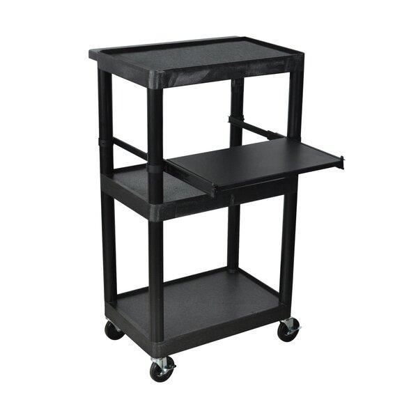 Endura 3 Shelf Presentation Cart by Offex
