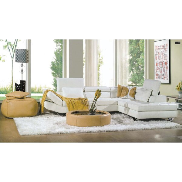Reims Right Hand Facing Sectional By Hokku Designs