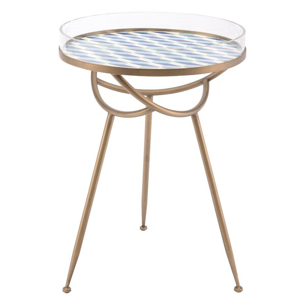 Sarvis Round End Table by Latitude Run