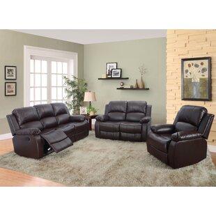 Benefield 3 Piece Living Room Set by Red Barrel Studio®