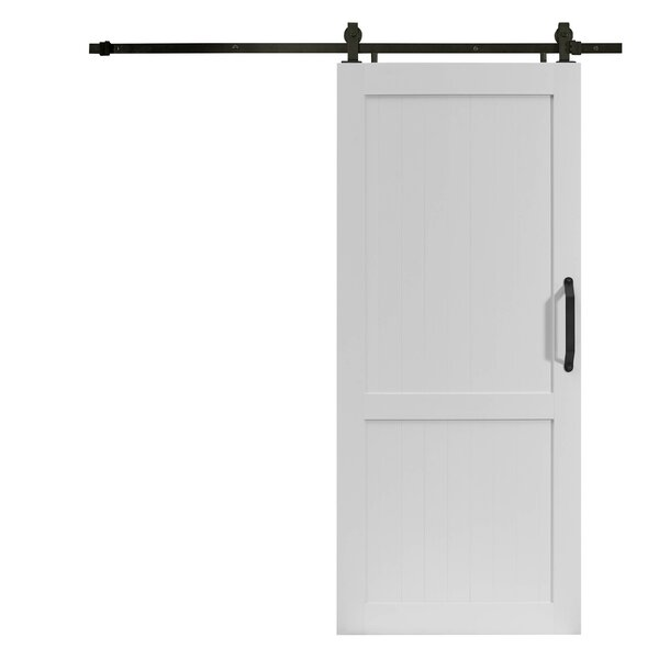 Millbrooke Hollow Panelled Plastic Interior Barn Door by LTL Barn Doors