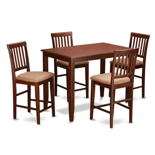 5 Piece Dining Set by Wooden Importers Wooden Importers