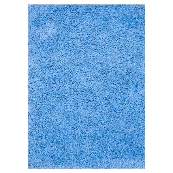 Dadi Hand-Tufted Blue Area Rug by Ebern Designs