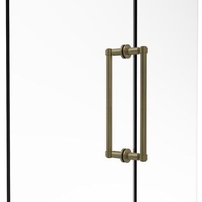 Allied Brass Contemporary 12 Quot Back To Back Shower Door