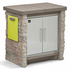 Stone Front Patio Cooling U0026 Storage Cooler