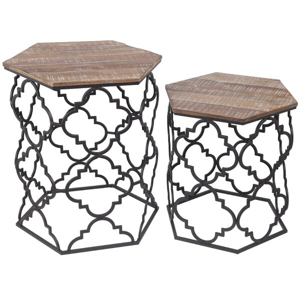 Spates 2 Piece Nesting Tables By Union Rustic