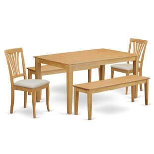 Capri 5 Piece Dining Set By Wooden Importers