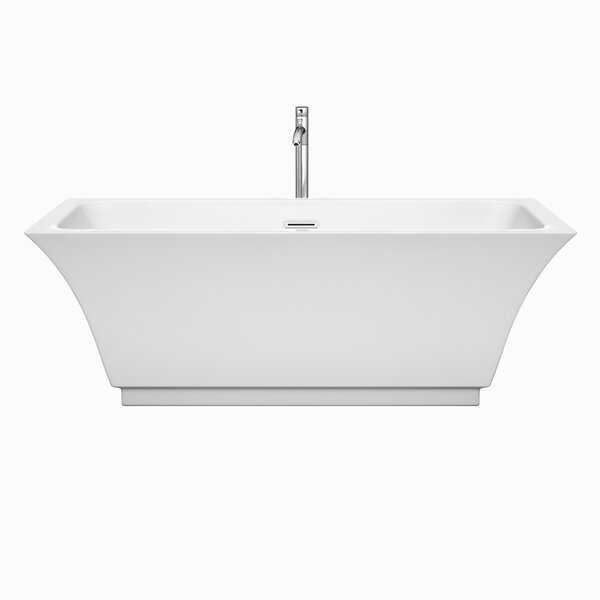 Galina 67 x 31.25 Soaking Bathtub by Wyndham Collection