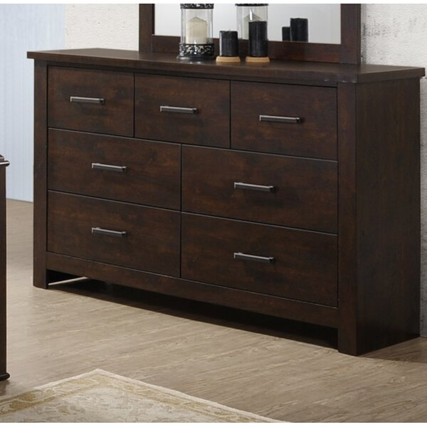 Forst 7 Drawer Double Dresser by Millwood Pines