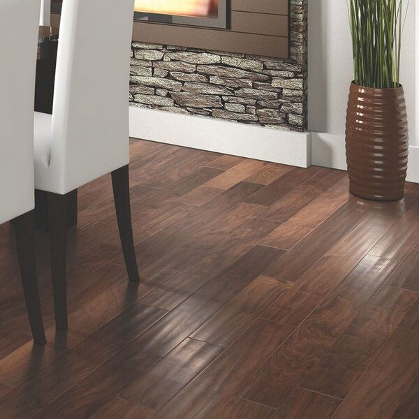 Stately Manor 5 Engineered Hardwood Flooring in Natural Walnut by Mohawk Flooring