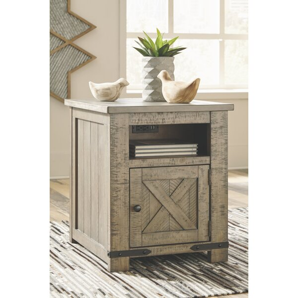Aldwin End Table with Storage by Signature Design by Ashley Signature Design by Ashley