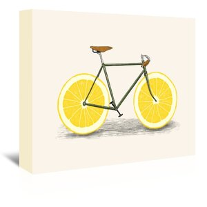 Zest Graphic Art on Wrapped Canvas by East Urban Home