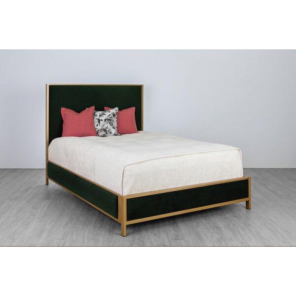 Simen Upholstered Standard Bed by Everly Quinn