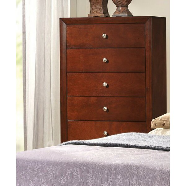 Alexei 5 Drawer Chest by Alcott Hill