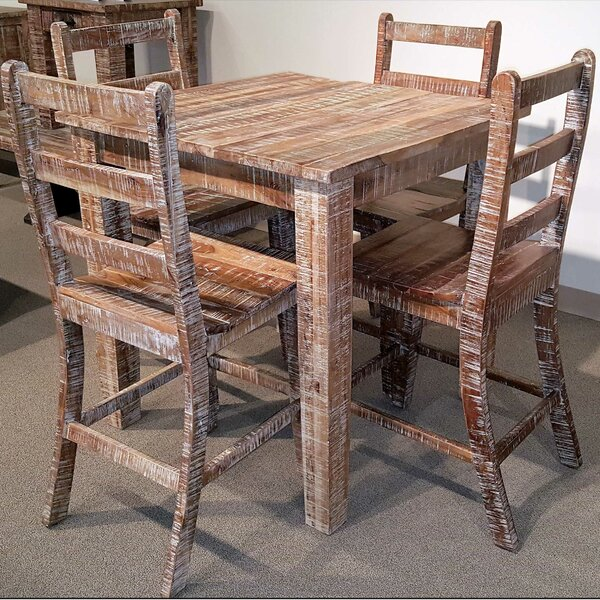 Walczak 5 Piece Pub Table Set By Millwood Pines #2