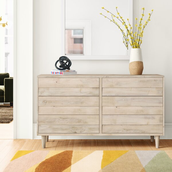 Naomi Reclaimed Look 6 Drawer Double Dresser by Foundstone