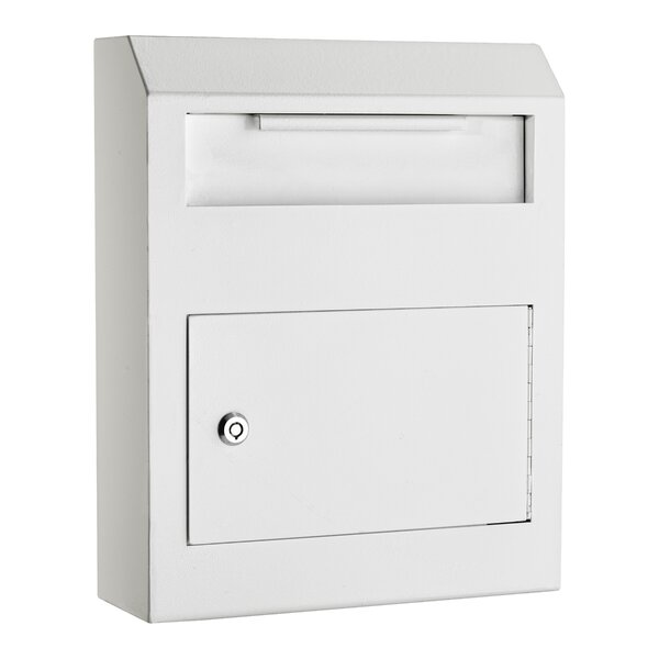 Heavy Duty Secured Locking Wall Mounted Mailbox by AdirOffice
