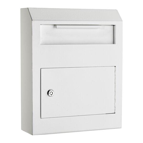 Heavy Duty Secured Locking Wall Mounted Mailbox by AdirOffice