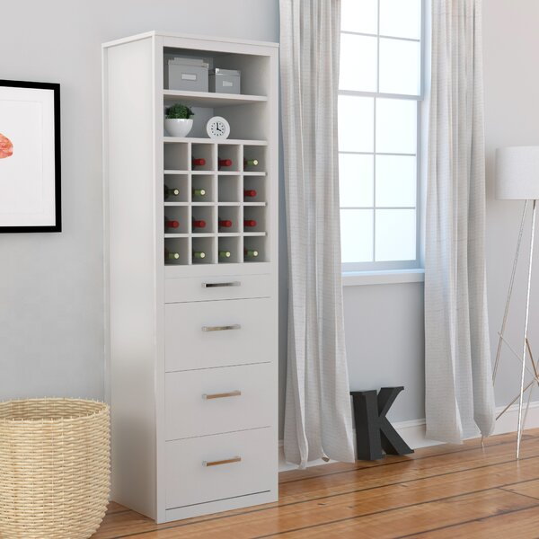 Tova Tower Cabinet 3 Drawer Accent Chest by Red Barrel Studio