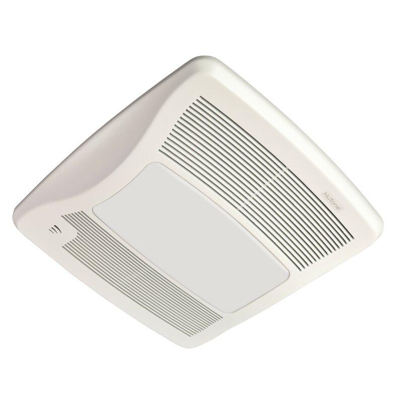 Broan Ultra Series 110 Cfm Energy Star Bathroom Fan With Light And Humidity Sensing Wayfair
