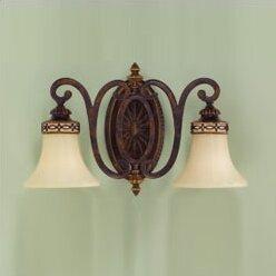Edwardian 2-Light Vanity Light by Feiss
