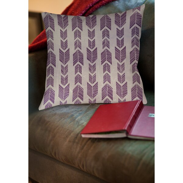 Lucina Printed Throw Pillow by Mistana