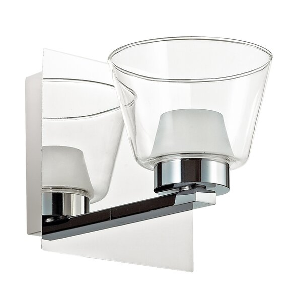 Estell 1-Light LED Bath Sconce by Latitude Run