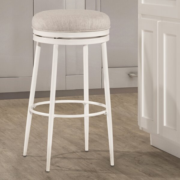 Lauri Bar & Counter Swivel Stool by Highland Dunes