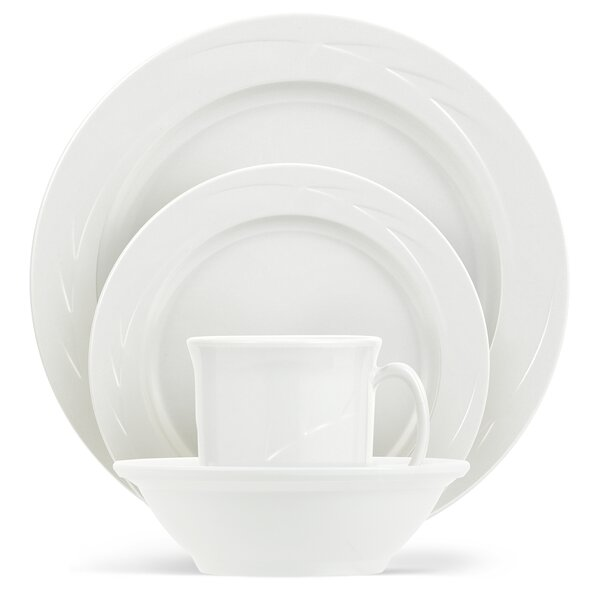 Henrich 16 Piece Melamine Dinnerware Set by Three Posts