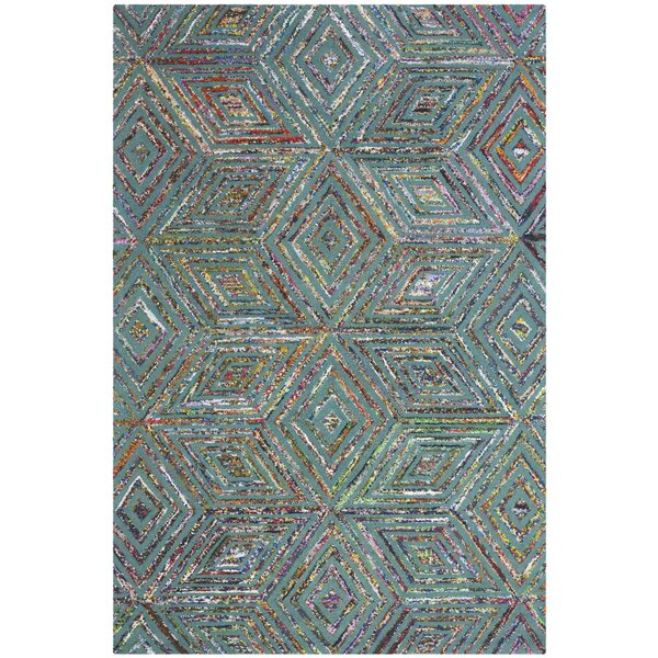 Norman Hand-Tufted Blue Area Rug by Safavieh