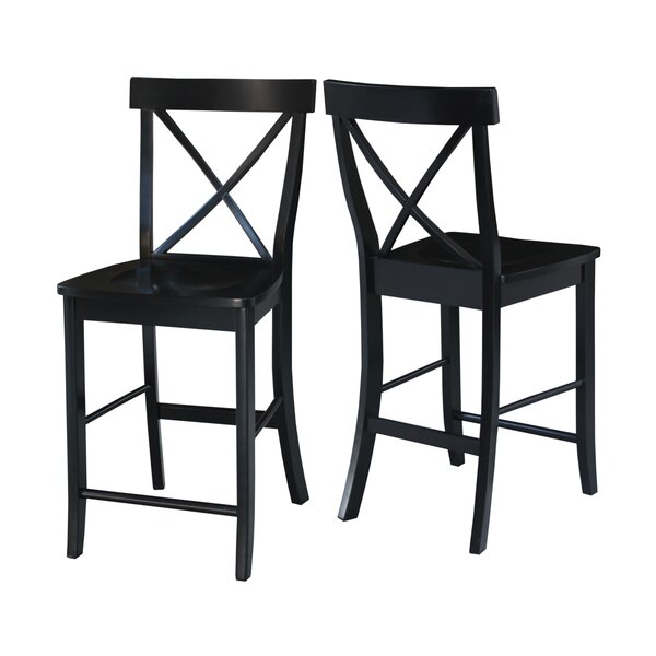 Downey 24 Bar Stool by Beachcrest Home