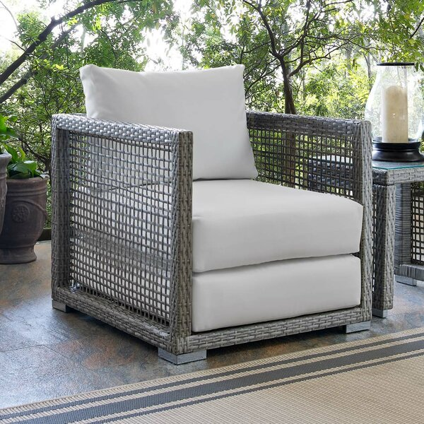 Cassiopeia Patio Chair with Cushions by Highland Dunes