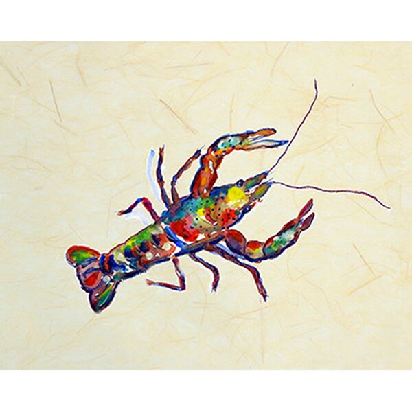 Crayfish Placemat (Set of 4) by Betsy Drake Interiors