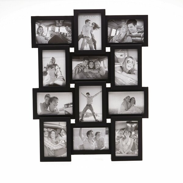 "New /""Memories/"" Multi Pictures Holder Family Pictures Wall Frame White Gift UK"